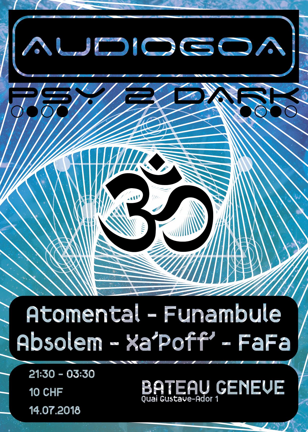 AudioGoa – Bateau Genève – 14 juillet 2018