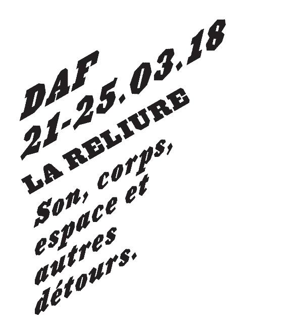 Festival DAF – 24 mars 2018